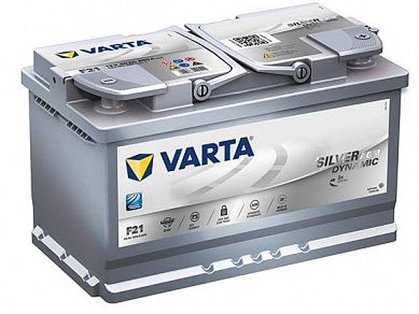 Akumulators VARTA START STOP 80ah 800a  315*175*190 -+ AGM